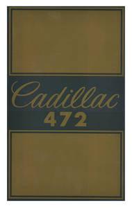 1968-69 Cadillac Air Cleaner Decal (Eldorado 472)