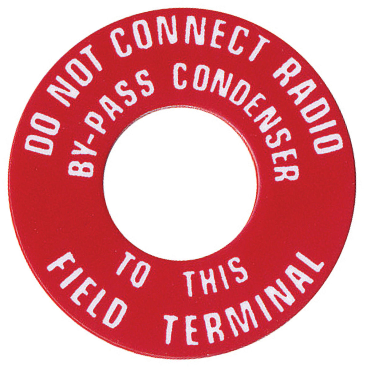 Photo of Generator Tag, 1959-63