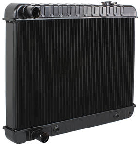 "1965-1965 Cadillac Radiator, Desert Cooler 17"" X 28-3/8"" X 2-5/8"" (Automatic Transmission) (with Heater Hose Connection), by U.S. Radiator"
