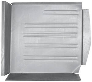 1961-64 Cadillac Floor Pans, Steel Rear