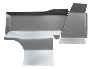 1955-56 Eldorado Floor Pan, Under Seat (Steel) - Front, Outer Side