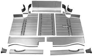 1959-60 Cadillac Trunk Pan Kit, Complete (Thirteen-Piece)