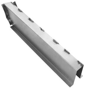 1957-1958 Eldorado Floor Pan Brace (Steel) - Rear Seat Channel