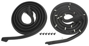 1961-1962 Catalina Door Weatherstrip (Bonneville & Catalina) 4-Door Hardtop Front, by Steele Rubber Products