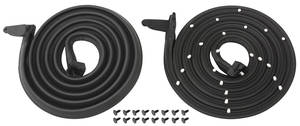 1963-1964 Catalina Door Weatherstrip (Bonneville & Catalina) 2-Door Hardtop/Convertible, by SoffSeal
