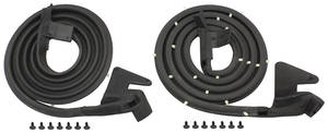 1965-1968 Bonneville Door Weatherstrip (Bonneville & Catalina) 4-Door Hardtop Front, by SoffSeal