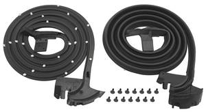 1967-1968 Catalina Door Weatherstrip (Bonneville & Catalina) 2-Door Hardtop/Convertible, by SoffSeal