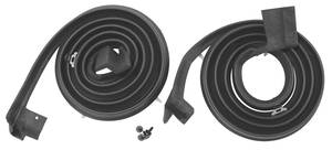 1959-60 Door Weatherstrip (Bonneville & Catalina) 4-Door Hardtop Rear, by Steele Rubber Products