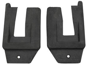 1961 Cadillac Door Jamb Seals, U-Shape - 2-Door Hardtop (Series 62 & Coupe DeVille)