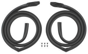 1969-1970 Cadillac Roof Rail Weatherstrip - 4-Door Hardtop (Calais & DeVille), by SoffSeal