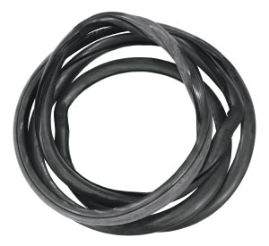 1954-1956 Cadillac Windshield Weatherstrip Seal - 4-Door (Series 62, Series 60 Special Fleetwood Sedan, Series 75 Fleetwood Sedan, Series 75 Fleetwood Imperial - Except 1956 Sedan DeVille), by Steele Rubber Products