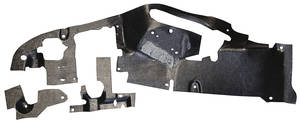 1961 Cadillac Firewall Insulation Pad, Interior (Model 6267)