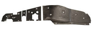 1965-66 Eldorado Firewall Insulation Pad, Interior