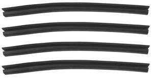 1965-1966 Cadillac Pillar Seals, Center, by Steele Rubber Products