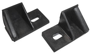 1954-1956 Cadillac Quarter Window Outer Roof Rail Seals (2-Door Hardtop), by Steele Rubber Products