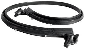 1971-1972 Cadillac Convertible Top Header Weatherstrip (Eldorado), by Metro Moulded Parts