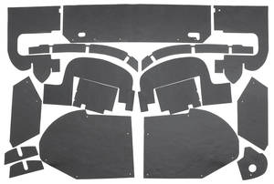 1957-1958 Cadillac Fenderwell A-Arm Seals, Inner (Eldorado) Sixteen-Piece, by Repops