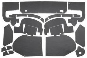 1957-58 Cadillac Fenderwell A-Arm Seals, Inner (Eldorado) Sixteen-Piece, by Repops
