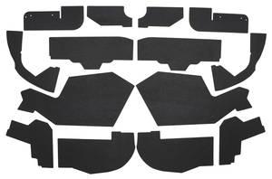 1961-62 Cadillac Fenderwell A-Arm Seals, Inner (Forteen-Piece)