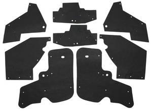 1967-68 Cadillac Fenderwell A-Arm Seals, Inner (Except Eldorado) Eight-Piece, by Repops