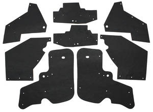 1967-68 Cadillac Fenderwell A-Arm Seals, Inner (Except Eldorado) Eight-Piece, by Repops