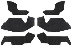 1969-1970 Cadillac Fenderwell A-Arm Seals, Inner (Except Eldorado) Eight-Piece