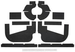 1959-1960 Cadillac Fenderwell A-Arm Seals, Inner (Ten-Piece)