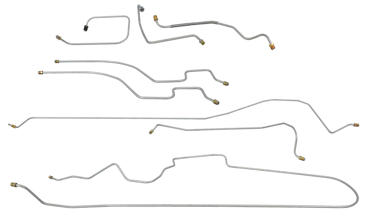 Photo of Brake Line Set: Front-To-Rear Manual Brake Series 60