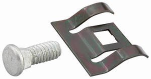 "1959-60 Cadillac Rocker Panel Molding Clip with 1/4"" Bolt"