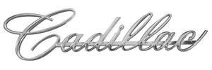 Cadillac Grille Emblem, 1966