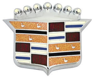 Cadillac Hood Emblem, 1965-66 (Crest), by RESTOPARTS