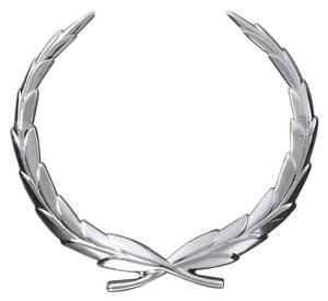 Cadillac Hood Emblem, 1965-66 Eldorado & Fleetwood (Wreath)