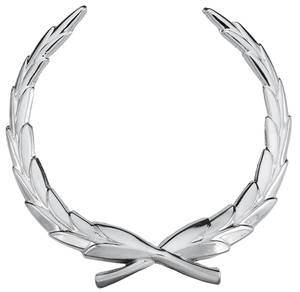1967-1970 Cadillac Hood Emblem, 1967-70 Eldorado (Wreath)