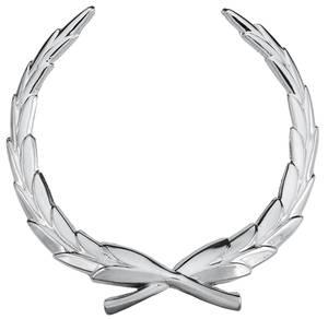 Cadillac Hood Emblem, 1967-70 Eldorado (Wreath)