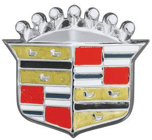 Cadillac Hood Emblem, 1969 (Crest)