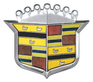 Cadillac Hood Emblem, 1971 Calais & DeVille (Crest)