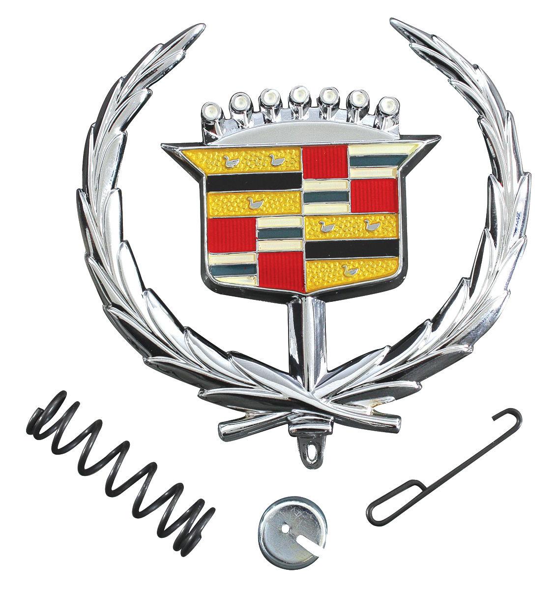 RESTOPARTS Cadillac Hood Ornament Emblem, 1971-76 Eldorado ...