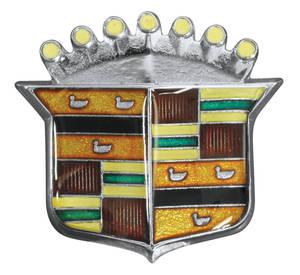 Cadillac Hood Emblem, 1975-76 (Crest)