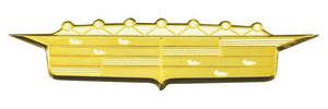 Cadillac Fender Emblem, 1956 (Crest)