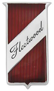Cadillac Fender Emblem, 1960-62 Fleetwood (Plaque)