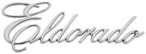 "1972-1974 Cadillac Fender Emblem, 1972-74 ""Eldorado"" (Script)"