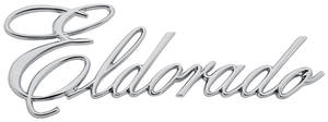 "Cadillac Fender Emblem, 1972-74 ""Eldorado"" (Script)"