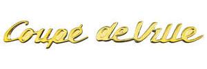 Cadillac Quarter Panel Emblem, 1954-55 (Script)