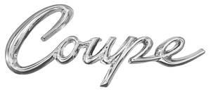 """Eldorado Quarter Panel Emblem, 1963-64 """"Coupe"""" (Script)"""
