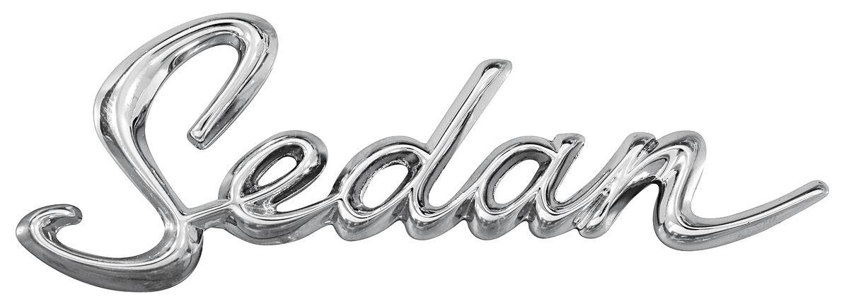 cadillac quarter panel emblem  1963
