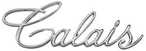 """DeVille Quarter Panel Emblem, 1965-70 """"Calais"""" (Script)"""