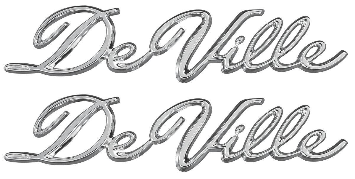 trim parts quarter panel emblem  1965
