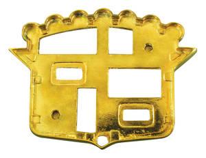 1954-1954 Cadillac Trunk Bezel, 1954 (Crest)