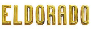 """Trunk Emblem, 1956 """"Eldorado"""" (Letters)"""