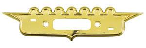 Cadillac Trunk Emblem Bezel, 1958 (Crest)
